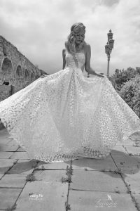 The perfect wedding dress I designed