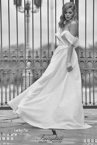 Impressive shimmering dress
