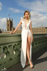 London Big Ben - with a sexy dress