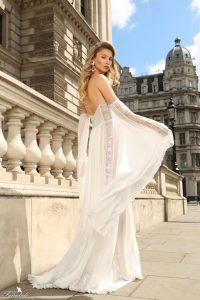 Airy chiffon dress